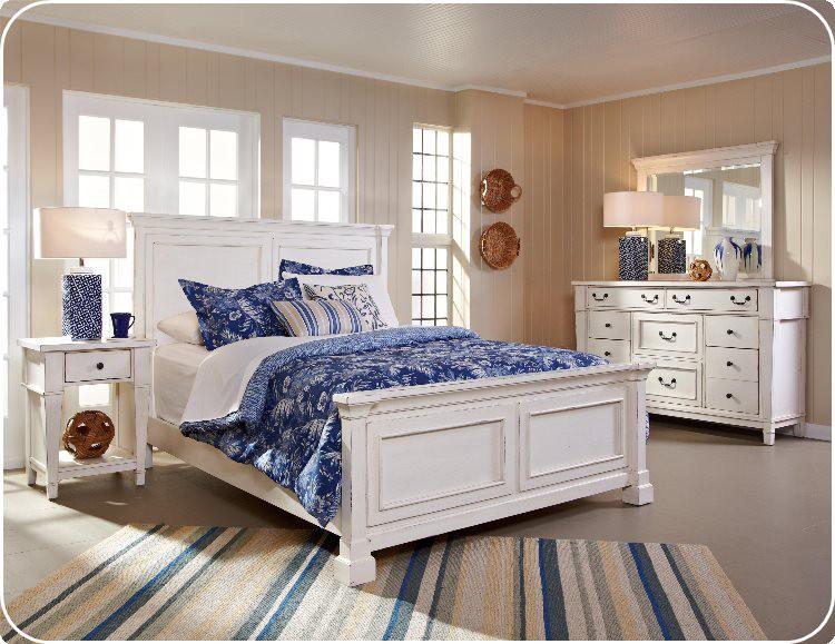 "Crossroads Furniture 683 ""Lake Side"" 6 pc Bedroom"