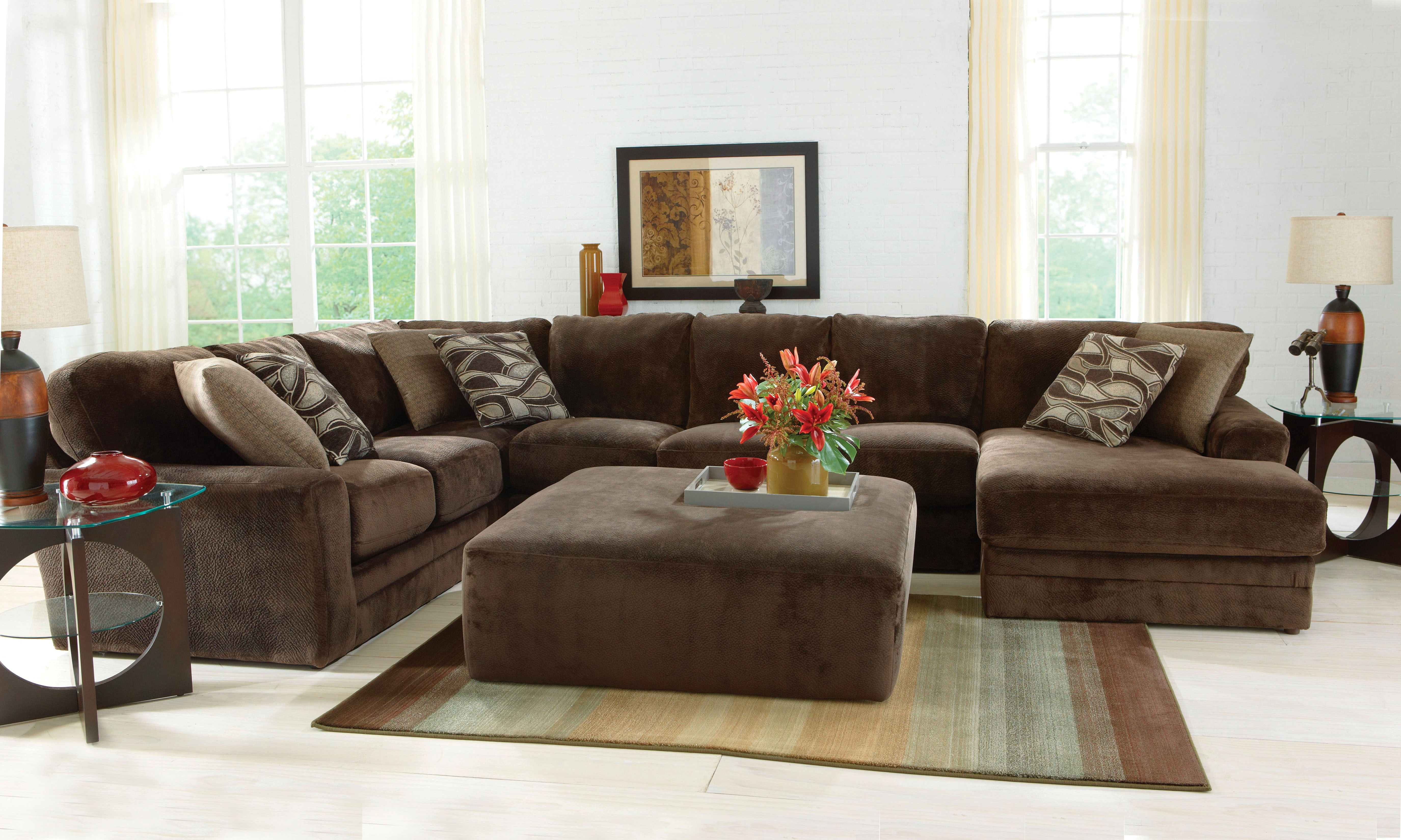 Jackson P-4377 Everest 3 Pc Sectional