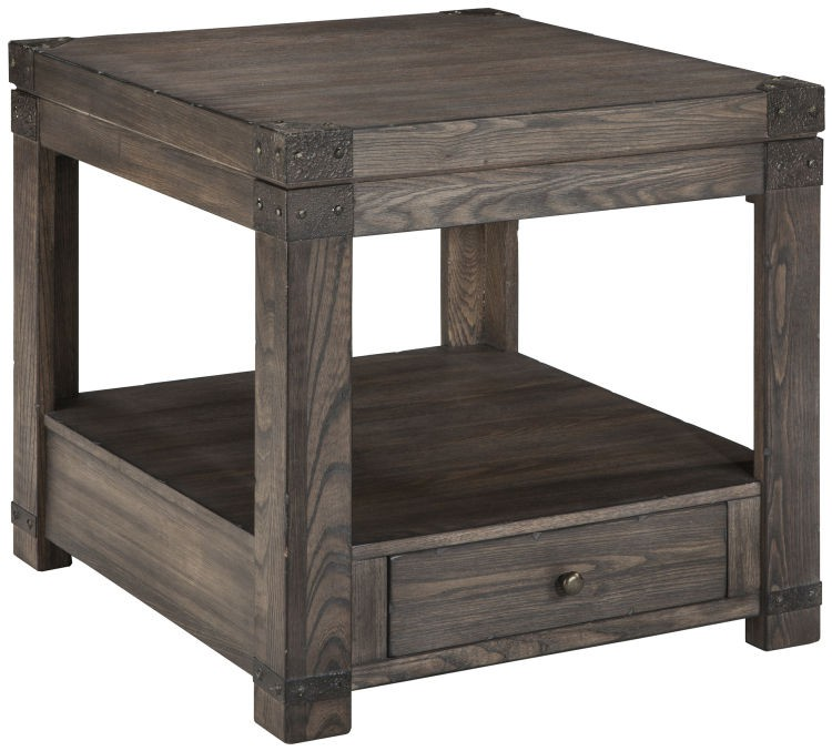 Ashley T846-3 Burladen End Table
