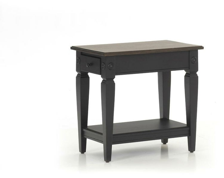 Intercon GW-TA-1626-RBC-C Glennwood Chairside Table