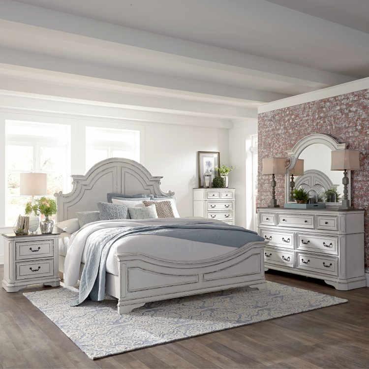Liberty 244 Magnolia Manor 6 Pc Bedroom