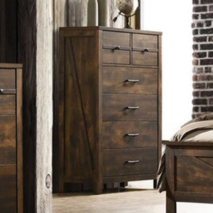 Crossroads Furniture C8100A-030 Rustic Oak Chest