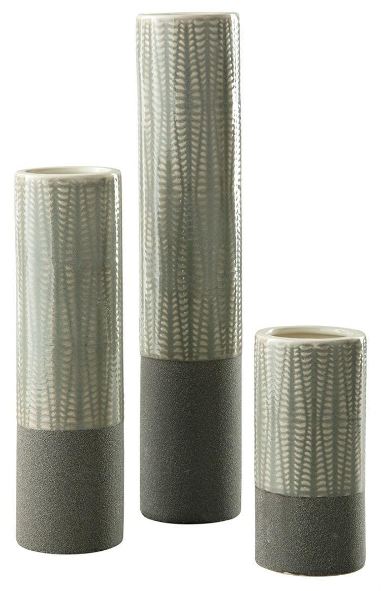 Ashley A2000351 Vase Set (3/CN) Elwood ACCENT TABLE SET (3/CN)