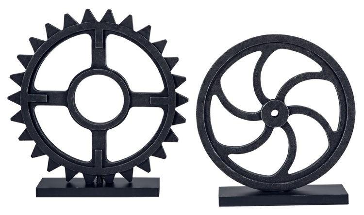 Ashley A2000254 Sculpture Set (2/CN) Dermot Sculpture Set (2/CN)