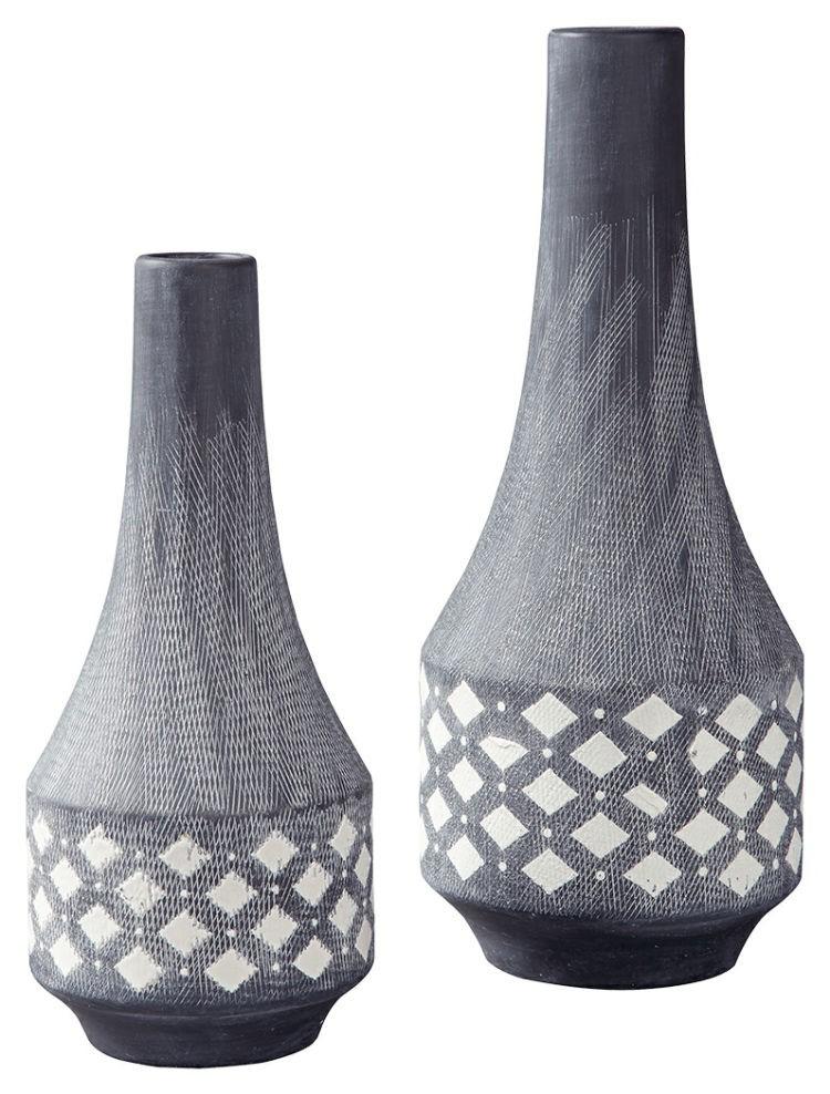 Ashley A2000262 Vase Set (2/CN) Dornitilla Vase Set