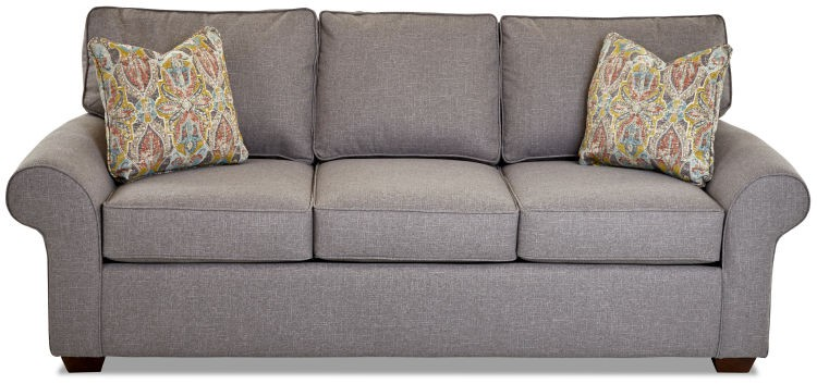 Klaussner Furniture K51300S Troupe Sofa W/Pillows