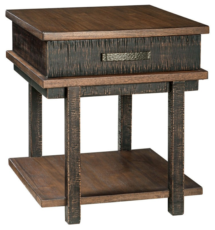 Ashley T892-3 Stanah Rectangular End Table
