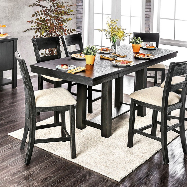 Furniture Of America CM3543PT Thomaston I Counter Ht. Table