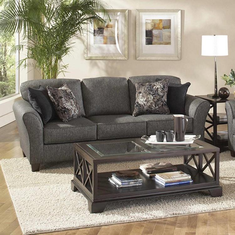 Crossroads Furniture 4600 Stocked Ash Sofa