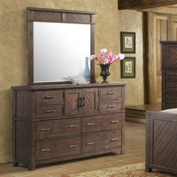 Crossroads Furniture JX600-MI Brandywine Mirror