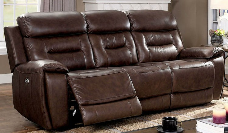 Furniture Of America CM6972-SF Victor Transitional Power Rec. Sofa