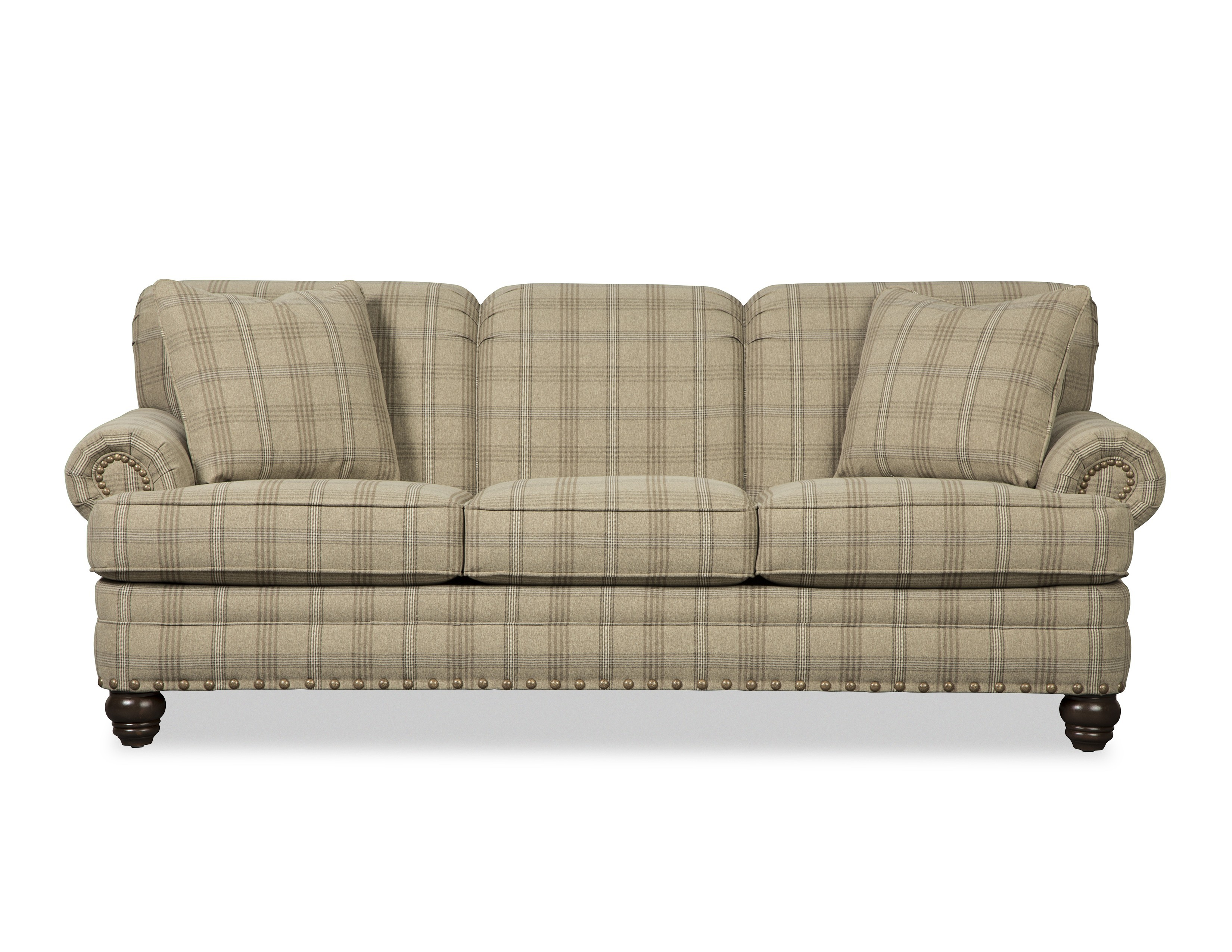 "Craftmaster SF-1030-20 Avalon Collection Field Sofa W/Pillows Subcategory Field (WWTK - ""Item Name Tab"""