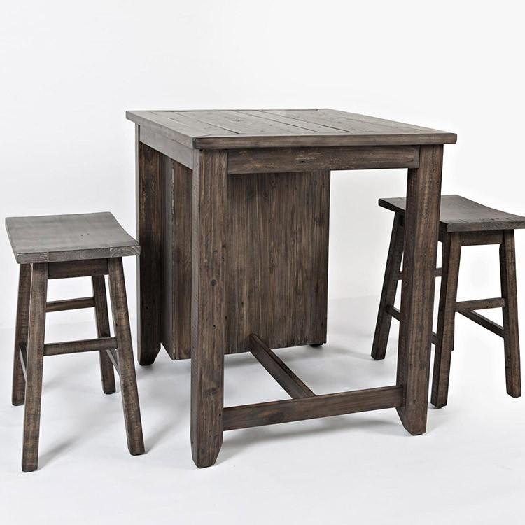 Crossroads Furniture 1700 Madison County 3pc. Pub Set