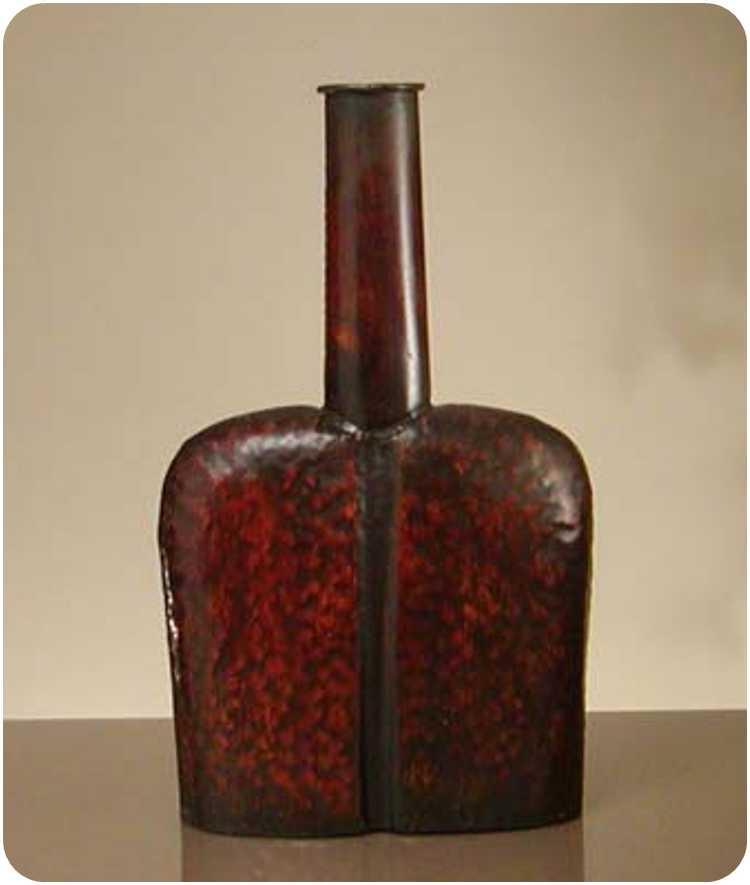 Sherwood Ff645 Longneck Flat Vase (fs-h60903)