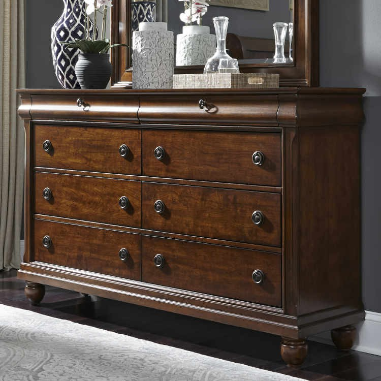 Liberty 589 Br31 Rustic Traditions Dresser