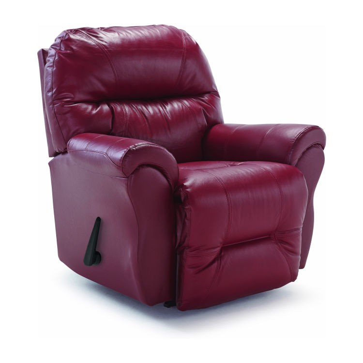 Best 8nw17 Bodie Leather Rocker Recliner