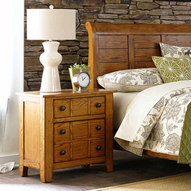 Liberty 175 Br61 Grandpa's Cabin Night Stand
