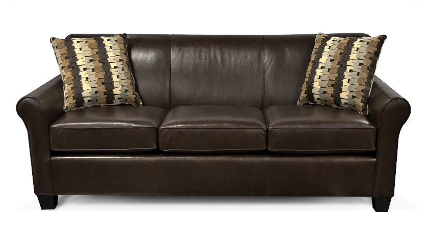 England 4635L Lilly Leather Sofa