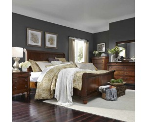 "Liberty 589 ""Rustic Traditions"" 3 Pc Bed"
