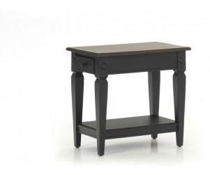 Intercon GW-TA-1626-RBC-C Glennwood Chairside Table