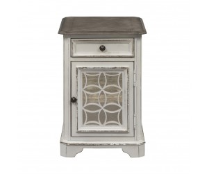 Liberty 244-OT1021 Magnolia Manor Chairside End Table