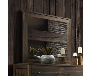 Crossroads Furniture C8100A-050 Rustic Oak Mirror