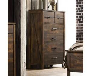 Crossroads Furniture C8100A-030 Rustic Oak Chest