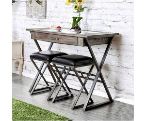 Furniture Of America CM3369BT Glasby Wine Bar Table