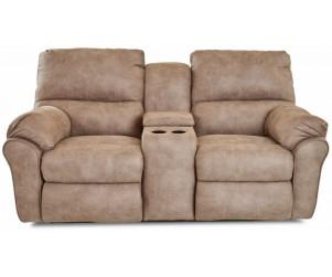 Klaussner Furniture 64703 PWCRLS Bateman Pwr Reclining Console Loveseat