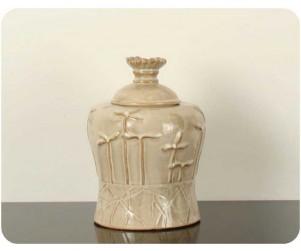 Sherwood Dc337 Sandstone Jar W/lid (dc1-3037)