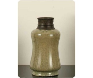 Sherwood Hy188 Mist Green Ceramic Vase