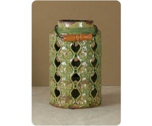 Sherwood Se1082 Lime Lattern 10 Ceramic