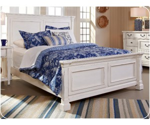 "Crossroads Furniture 683 ""Lake Side"" 3 Pc. Bed"