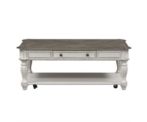 Liberty 244-OT1010 Magnolia Manor Rectangular Cocktail Table