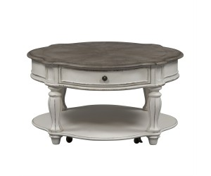 Liberty 244-OT1011 Magnolia Manor Round Cocktail Table