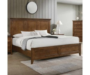 Intercon SM-BR-8865Q-TUS-FB San Mateo Queen Panel Footboard