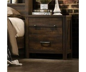 Crossroads Furniture C8100A-020 Rustic Oak Night Stand